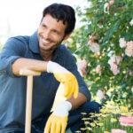 Portrait Of Man Gardening